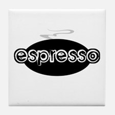 Espresso Steam Logo Tile Coaster