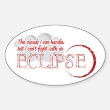 Fight an Eclipse Sticker (Oval)