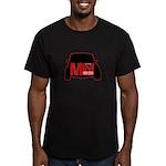 MiniMini Men's Fitted T-Shirt (dark)