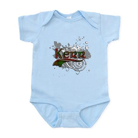 Kerr Tartan Grunge Infant Bodysuit