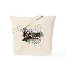 Kerr Tartan Grunge Tote Bag