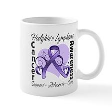 Ribbon Hodgkins Lymphoma Mug
