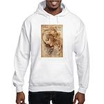 Christmas Shakespeare Da Vinci Hooded Sweatshirt