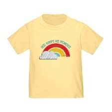 Christian Toddler Tee: God Keeps His Promises