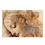 Christmas Shakespeare Da Vinci Postcards (Package