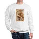 Christmas Shakespeare Da Vinci Sweatshirt