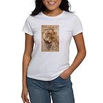 Christmas Shakespeare Da Vinci Women's T-Shirt