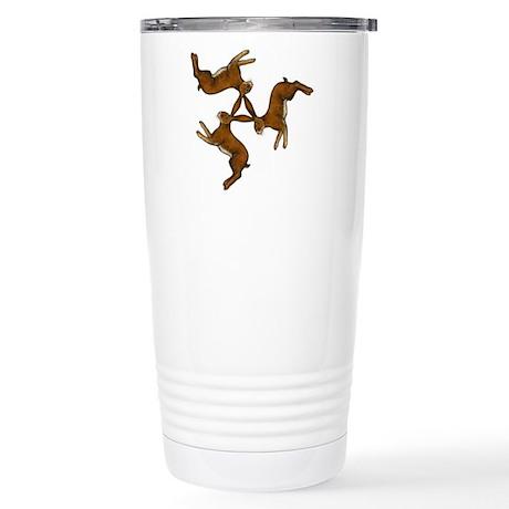 Splitting Hares Stainless Steel Travel Mug