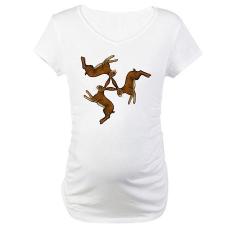 Splitting Hares Maternity T-Shirt