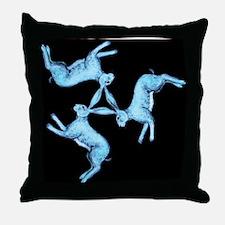 Lunar Hares Throw Pillow