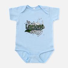 Lamont Tartan Grunge Infant Bodysuit
