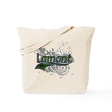 Lamont Tartan Grunge Tote Bag