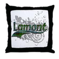 Lamont Tartan Grunge Throw Pillow
