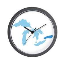 Lake Ontario Wall Clock