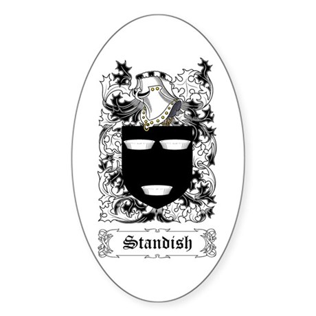Standish Sticker (Oval)
