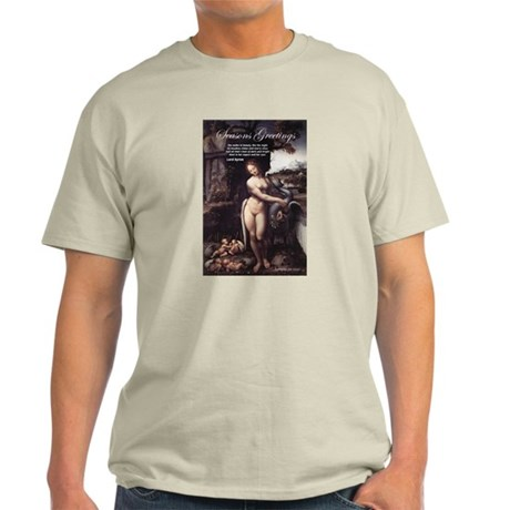 Christmas Seduction / Pleasure Ash Grey T-Shirt