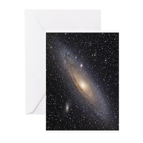 Andromeda Galaxy Greeting Cards (Pk of 10)