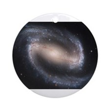 Barred Spiral Galaxy Ornament (Round)