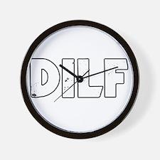 DILF Wall Clock