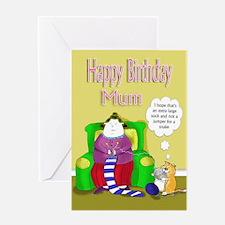 mum happy birthday lady knitting