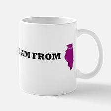 chicago-map Mugs