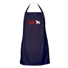 Stupid Lamb Apron (dark)