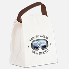 Taos Ski Valley - Taos - New Me Canvas Lunch Bag