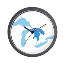 Cute Great lakes Wall Clock