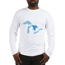 Cute Great lake Long Sleeve T-Shirt