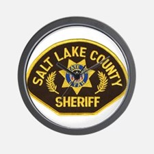 Salt Lake County Sheriff Wall Clock