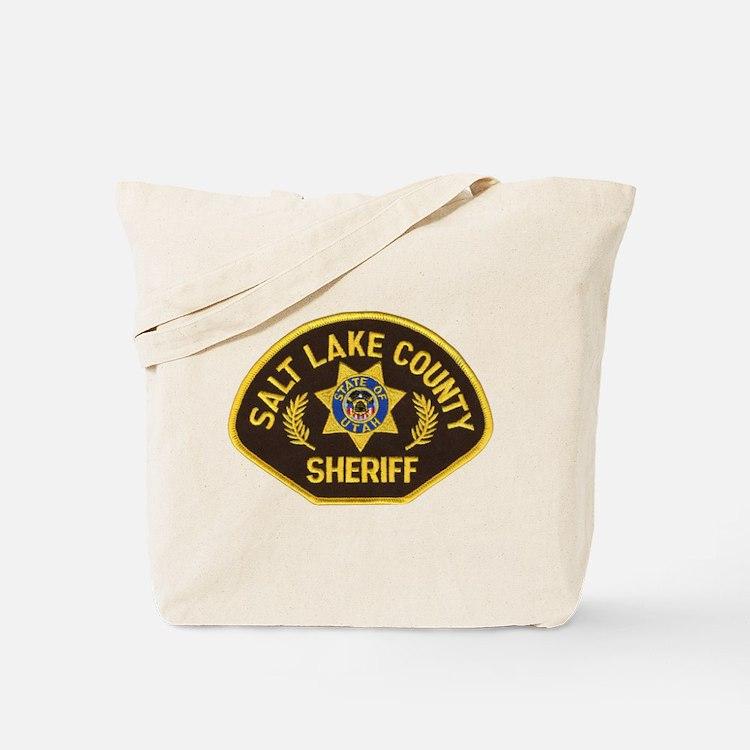 Salt Lake County Sheriff Tote Bag