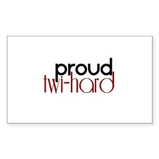 Proud Twihard Stickers