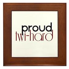 Proud Twihard Framed Tile