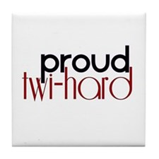 Proud Twihard Tile Coaster