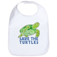 Save the Turtles Bib