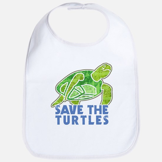 Save the Turtles Bib