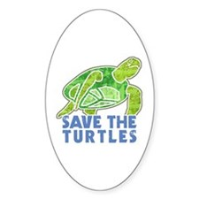 Save the Turtles Decal