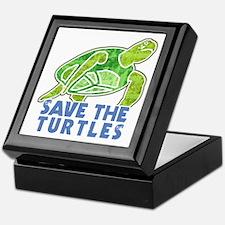 Save the Turtles Keepsake Box