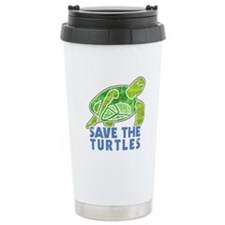 Save the Turtles Travel Mug