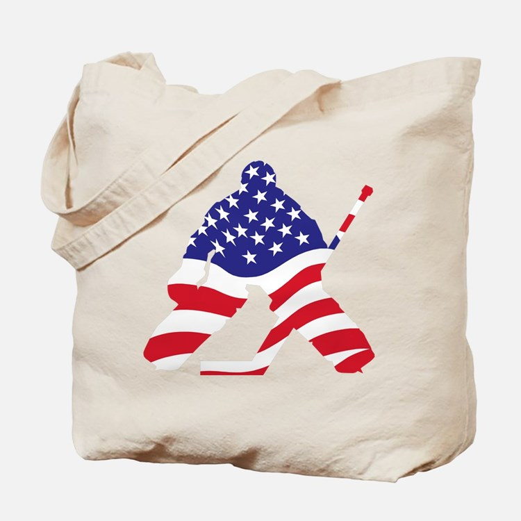 Cute Usa hockey Tote Bag