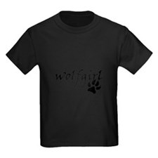Wolf Girl Pawprint T