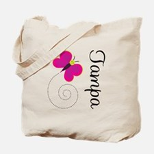 Butterfly Tampa Tote Bag