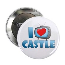 "I Heart Castle 2.25"" Button"