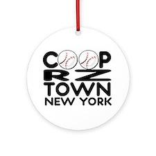 CoopRZtown, NY Ornament (Round)