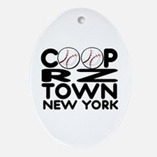 CoopRZtown, NY Ornament (Oval)