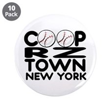 """CoopRZtown, NY 3.5"""" Button (10 pack)"""