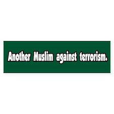 Muslim Against Terrorism Peace Bumper Bumper Sticker