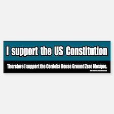 Support the Ground Zero Mosque Bumper Bumper Bumper Sticker