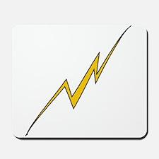 Wonky Lightning Bolt Mousepad
