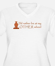 2-other_wheel Plus Size T-Shirt